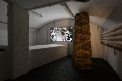 """""""Earthen Cairn"""" Bricks from London Thames foreshore, Variable Dimensions"""