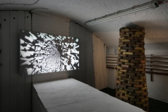 """Richard Müller - """"Bone Tunnel"""" Video with audio, Looping video"""