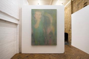 Mauro Bonacina, The Last Straw, 2018, 180x120x5cm, Oil and PVC on Nylon