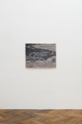 Liam Tickner, Untitled, 2016, 44.5x57x1cm, Resin, laser print, perlite