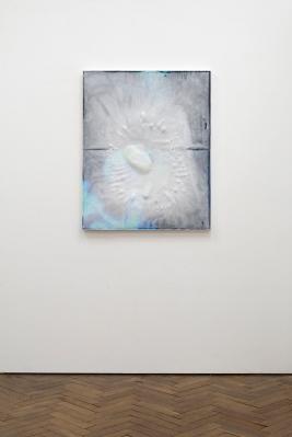 Liam Tickner, Perfect Storm, 2017, 100x80x6cm, Bio Resin, inkjet print on canvas